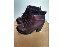 Ladies size 4 boots - 3 pairs