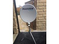 Skyview dish for touring
