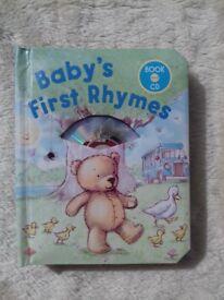 Nursery Rhyme Book With CD