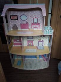 Chad Valley 3 storey dolls house