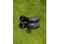 Frank Thomas size 10 Motorbike Boots as New