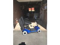 Bootmaster Elite mobility scooter in blue