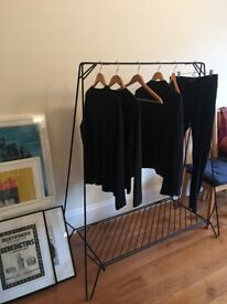 Anker Clothing Rack (Black) by Anker Studio Copenhagen