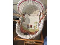 Beautiful Hardly Used Mamas and Papas Moses Basket