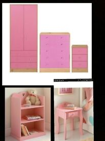 Girls bedroom furniture for sale excellent condition