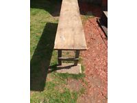 Pitch pine table