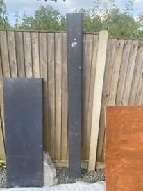 Anthracite fascia board 1200x150mm