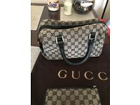 Genuine Gucci Supreme Handbag and purse