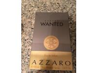 Full bottle of Azzaro aftershave