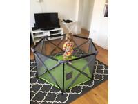 Summer Infant Pop 'N Play Playpen, almost new
