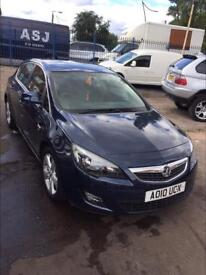 Vauxall Astra 2010 1.6 Petrol automatic