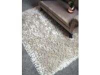 Luxury silver rug large