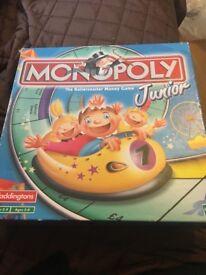 Junior Waddingtons Monopoly