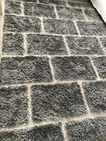 Grey large Rug AS NEW