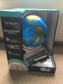 Interactive children's globe