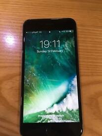 iPhone 6s 64gb black. Any network.
