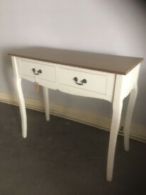 Ex display pacific Lifestyle dressing table or console table