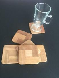 Solid Teak Coasters