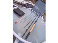 13' Float & 12' Feeder fishing rods