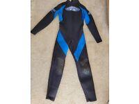 Ladies full length wetsuit