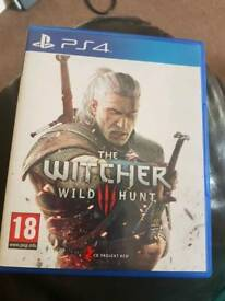 The witcher wild hunt ps4