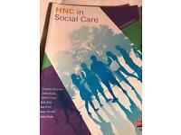 Hnc in social care book