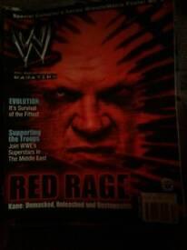 Wwe magazines
