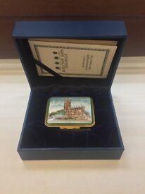 Halcyon Days Limited Edition Enamel Box 'The Wolverhampton City Box'