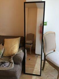 IKEA Stave mirror, dark brown, 160cm x 40cm