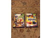 2 Xbox 360 Sesame street / Elmo games (needs Kinect controller)