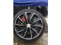 "18"" Renault Alloy Wheels 5 X 114.3"