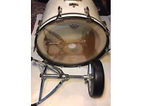 Pearl Professional MX Series, solid maple shell drum kit inc.2 cymbal stands and stool.
