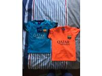 Infant barcelona football tops