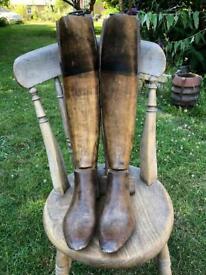 Antique boot trees.