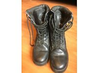 Patrol Boot - All Leather – Black size 9 uk