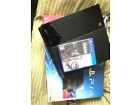 PlayStation 4 (game+controller) comes with original box