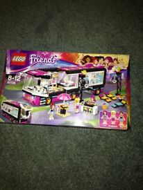 Friends LEGO pop star bus 41106