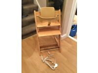 Stokke Tripp trapp with baby Set and harness