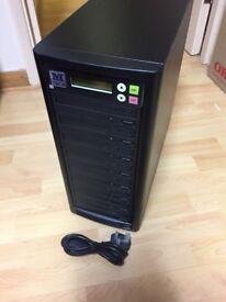 M-Tech 1-7 CD DVD Tower Duplicator