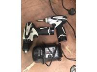 Makita 10.8v drill driver & impact driver set