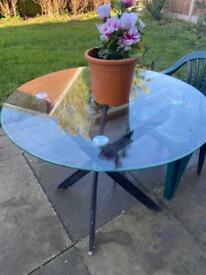 Garden Table Glass