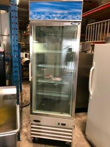 Congelateur Une Porte Vitree 2014 - Freezer One Glass Door 115 volts
