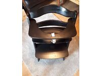 solid wood Adjustable Kids High Chair