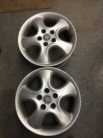 """16"""" Vauxhall Alloy Wheels"""