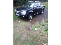 Nissan Navara crew cab pickup 05 long mot may take px very very good condition drives faultless