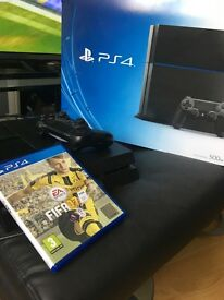Sony Ps4 console (500gb) with Fifa 17