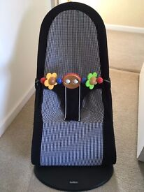 Baby Bjorn Balance Bouncer with Wooden Toy Bar