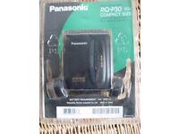Stereo Cassette Player-Panasonic RQ-P30 + Walkman radio cassette player
