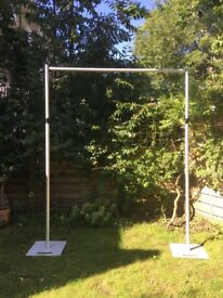 Superb light weight but heavy duty free Standing frame - backdrop/wedding/party/events/flowerwall