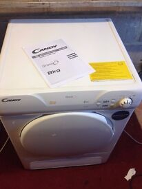 CANDY 8KG CONDENSER TUMBLE DRYER GRAND'O' SENSOR SYSTEM